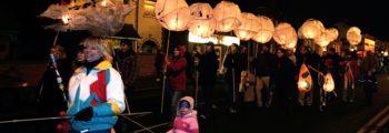 Starting the Lantern Processions…